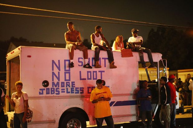 Despite the Brown family's continued call for peaceful demonstrations, violent protests have erupted nearly every night in Ferguson since the killing.
