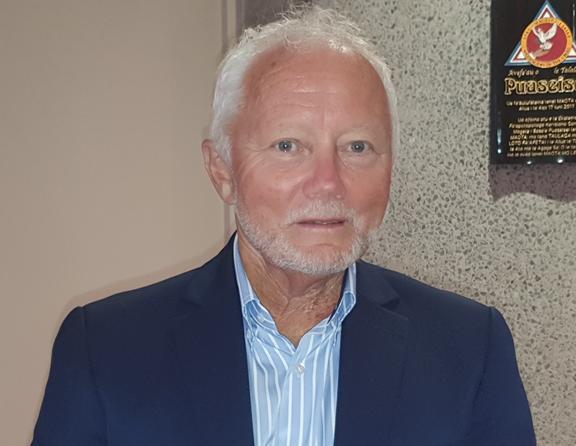 Michael Barnett, CEO of the Auckland Chamber of Commerce.