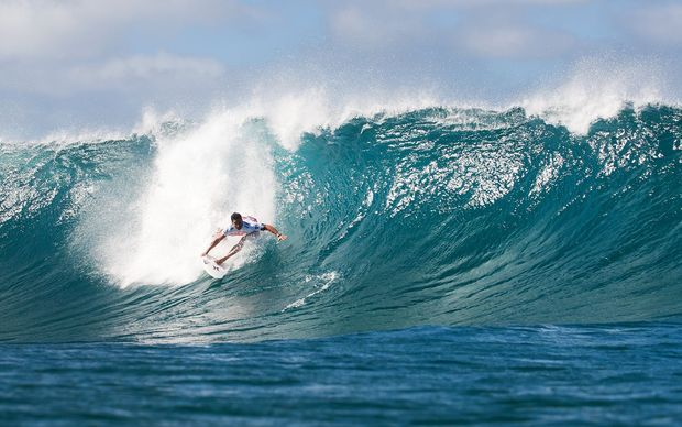 Tahitian surfer Michel Bourez