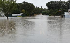 Flooding in Gore.