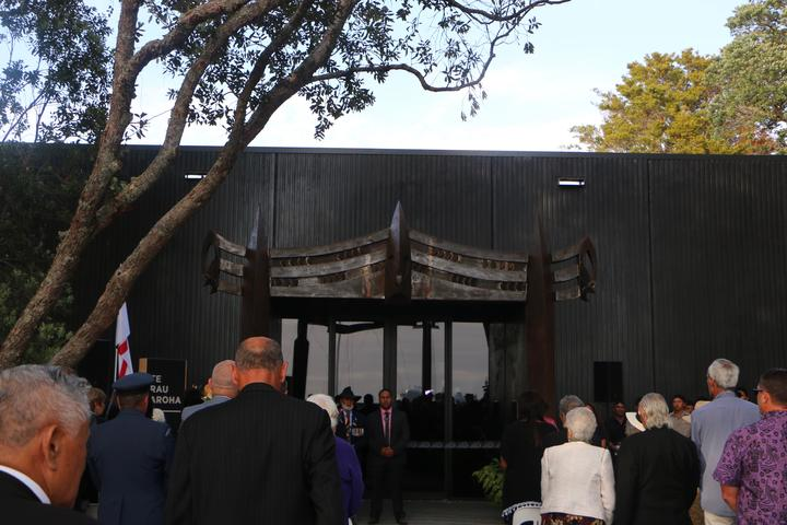 The official opening of Te Rau Aroha, a museum at Waitangi honouring Māori who have fought in conflicts in New Zealand and overseas.