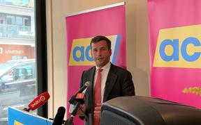 David Seymour used his state of the nation address to attack the government's changes to gun legislation.