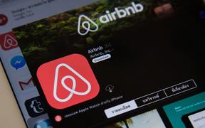 Airbnb is a website for people to list, find, and rent lodging.