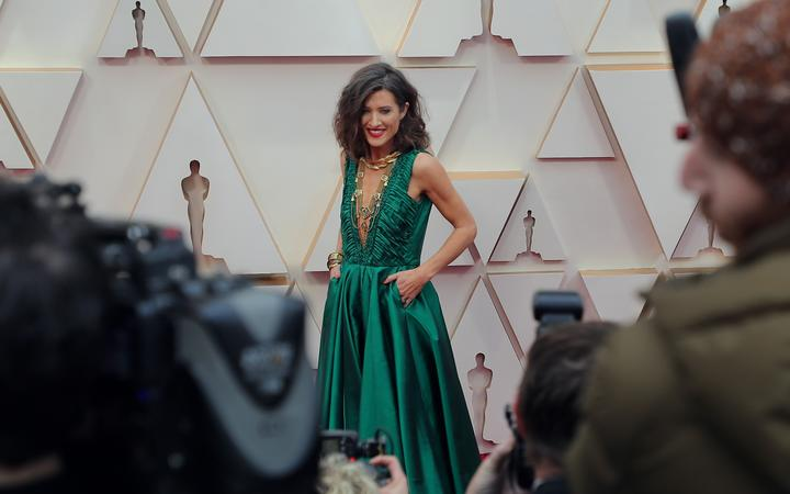 HOLLYWOOD, CALIFORNIA - FEBRUARY 09: Chelsea Winstanley attends the 92nd Annual Academy Awards at Hollywood and Highland on February 09, 2020 in Hollywood, California.   Neilson Barnard/Getty Images/AFP