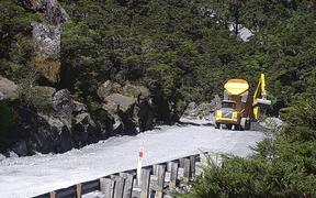 A route has been cleared through to Milford Sound which will be usable by 4WD vehicles in twice-a-day convoys.
