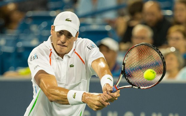 American tennis player John Isner