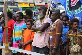 A 97.7% majority of Bougainvilleans voted for independence from PNG