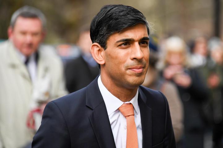 Rishi Sunak arrives at the Treasury following Boris Johnson's government reshuffle 13 February 2020