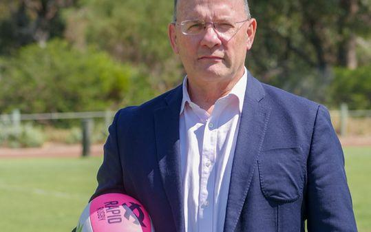 Rapid Rugby Chief Executive Officer Mark Evans