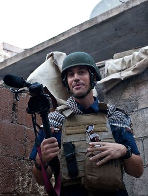 American journalist James Foley.