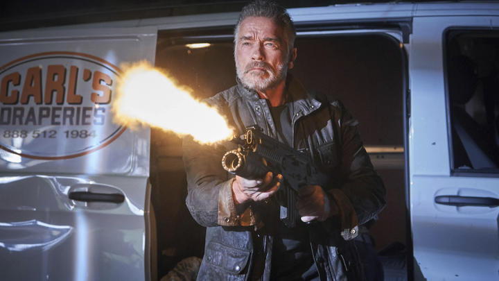Arnold Schwarzenegger is a highlight of Terminator: Dark Fate.