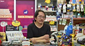 10 O'Clock Dairy owner Sean Lee says the government should pay for all stores to have smoke cannon security systems.