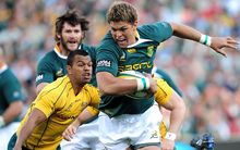 Springbok flanker Juan Smith