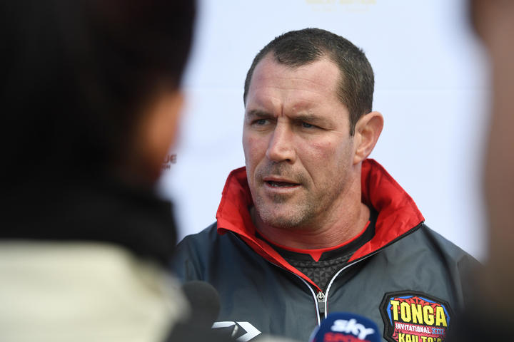 Kristian Woolf has coached Tonga since 2014
