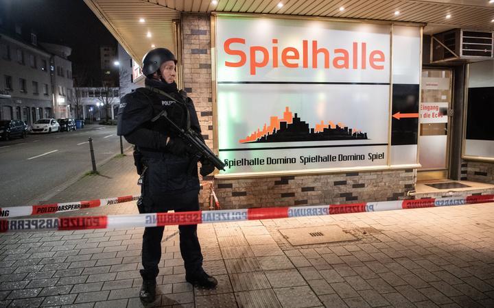 Shooting leaves several people dead in western German city of Hanau