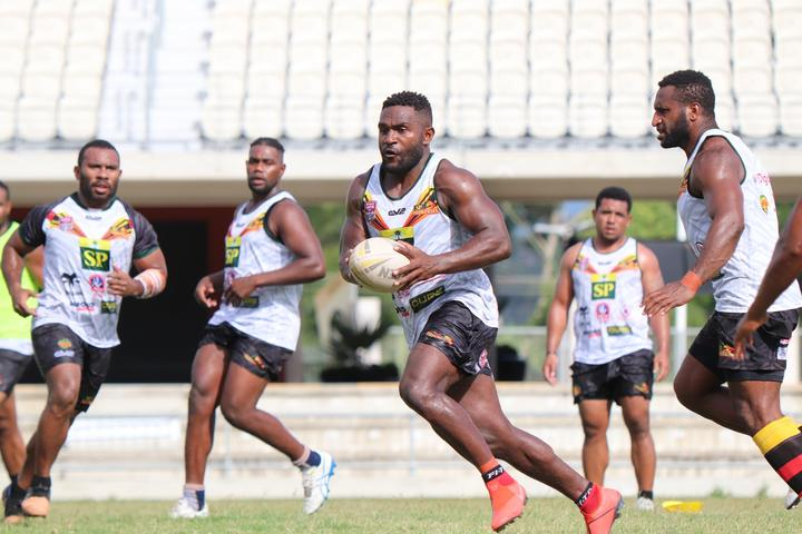 PNG Hunters training session.