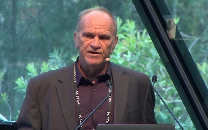 Aboriginal elder Professor Len Collard