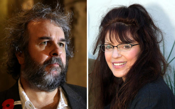 Sir Peter Jackson and Dame Fran Walsh.