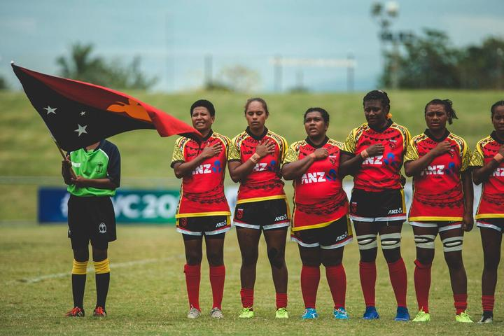 Papua New Guinea Women's XV to play Tonga in Port Moresby.