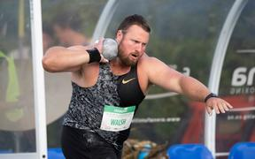 Tom Walsh during the Men's Shot Put, during the Sir Graeme Douglas International, Auckland 2020.
