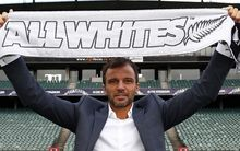 Anthony Hudson, All Whites coach.