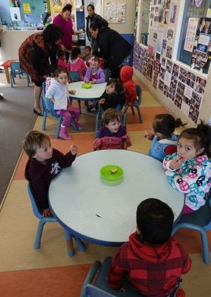 The Porirua Whanau Centre has benefited from policies aimed at increasing enrolment.