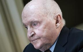 Former GE boss Jack Welch. He died on 2 March 2020.