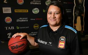 Chanel Pompallier appointed assistant coach of New Zealand Breakers