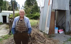 Tony Barrett at his Candlelight property near Greymouth.