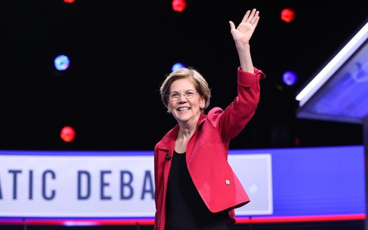 Senator Elizabeth Warren.Photo:AFP