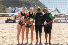 Vanuatu finished runners-up in the New Zealand Beach Volleyball Tour Finals.
