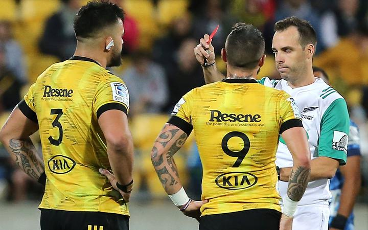 Hurricanes' prop Lomax banned for three weeks