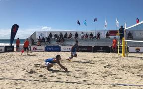 Fiji made a winning start to the Continental Cup Olympic qualifiers in Mount Maunganui.
