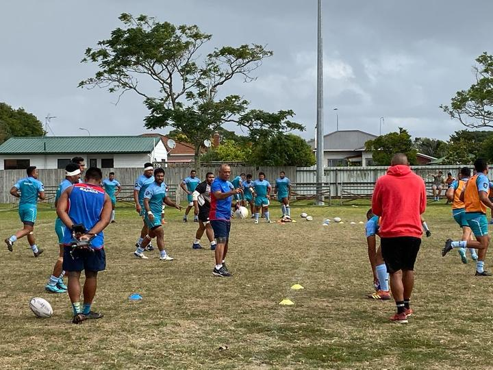 Manumā Samoa trained in Auckland for two weeks before flying to Perth.