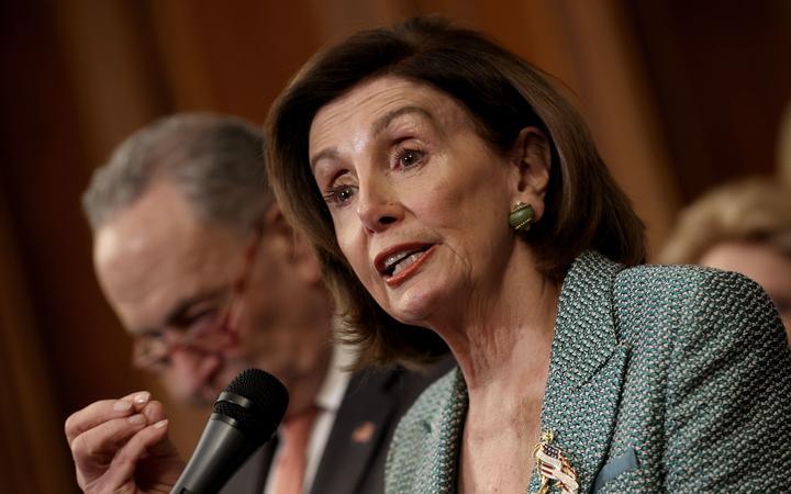 Pelosi announces deal with White House on coronavirus bill