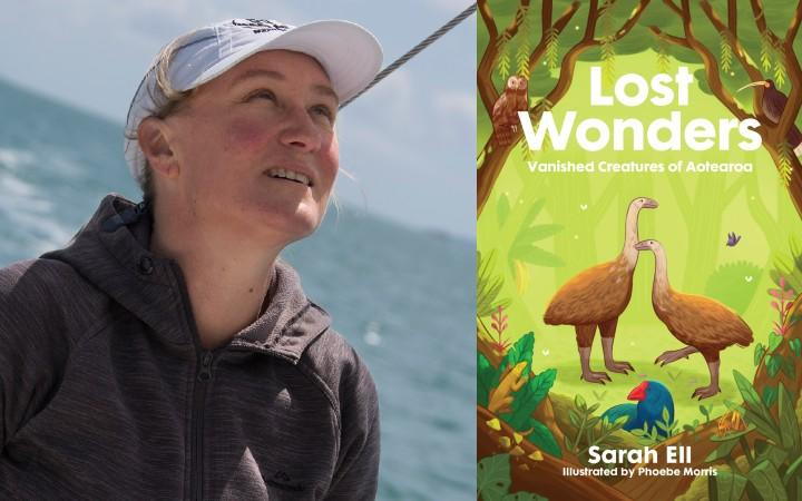 Sarah Ell and her book Lost Wonders