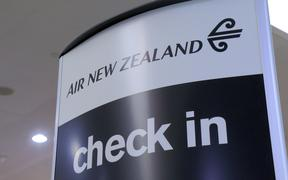 32178804 - melbourne australia - september 13, 2014: air new zealand check in counter at melbourne airport
