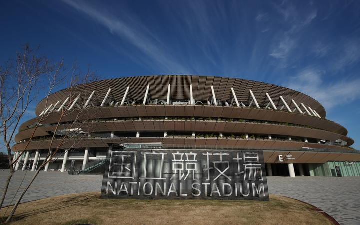 National Olympic Stadium in Tokyo, Japan.