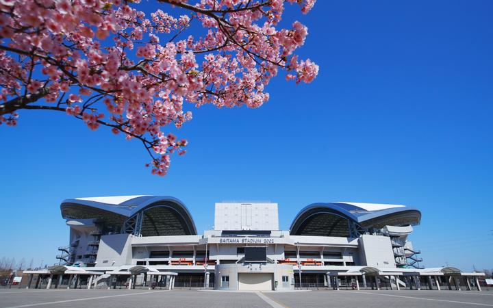 Saitama Stadium, venue for football at the Tokyo 2020 Olympic Games.