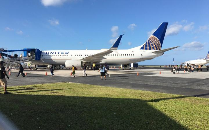 Marshalls Enforces Entry Ban On Grounded United Airlines Passengers Rnz News