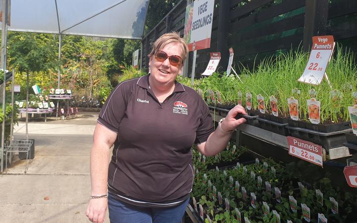 Manager Chantel Bell of Big Jim's Garden Centre New Plymouth/Waitara.