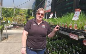 Manager Chantel Bell of Big Jim's Garden Centre New Plymouth/Waitara.