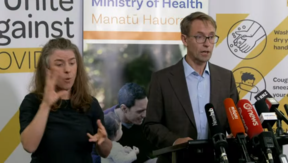 Ashley Bloomfield, Ministry of Health press conference March 20.