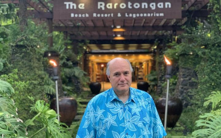 The Rarotongan managing director Tata Crocombe