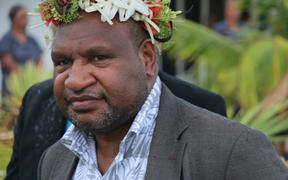 Prime Minister of Papua New Guinea James Marape at the Pacific Islands Forum Summit in Tuvalu, 2019.