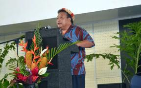 Pohnpei governor Reed Oliver