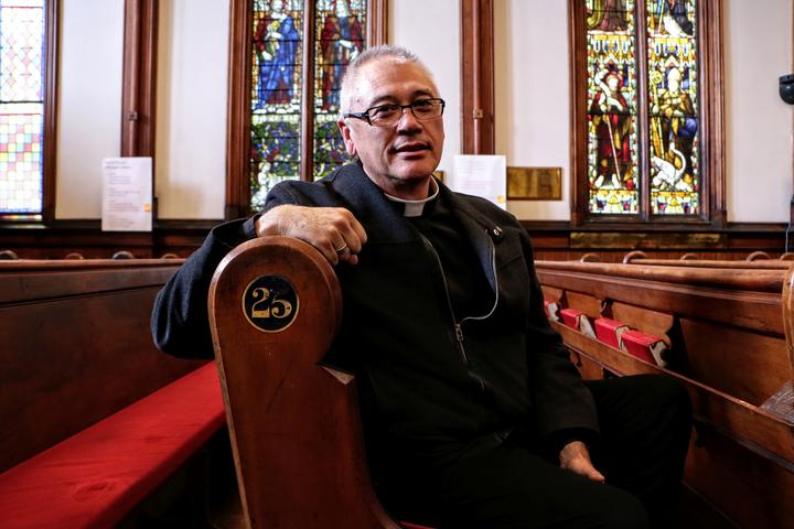 Archdeacon Stephen King from St Peter's on Willis Anglican Church, Wellington
