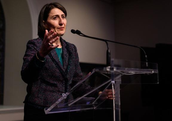 New South Wales Premier Gladys Berejiklian speaks