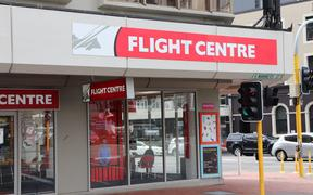 Generic picture of a brick and mortar Flight Centre store in Wellington.