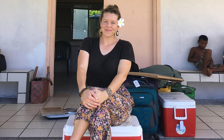 New Zealander Laura Freeman has chosen to stay in the Marshall Islands, which is so far free of Covid-19